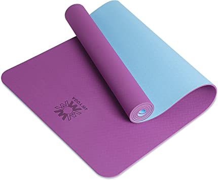 Non Slip Extra Thick Yoga Mats for Women & Men