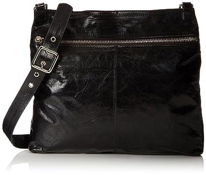 HOBO Vintage Lorna Cross-Body Handbag, Black, one size: Handbags ...