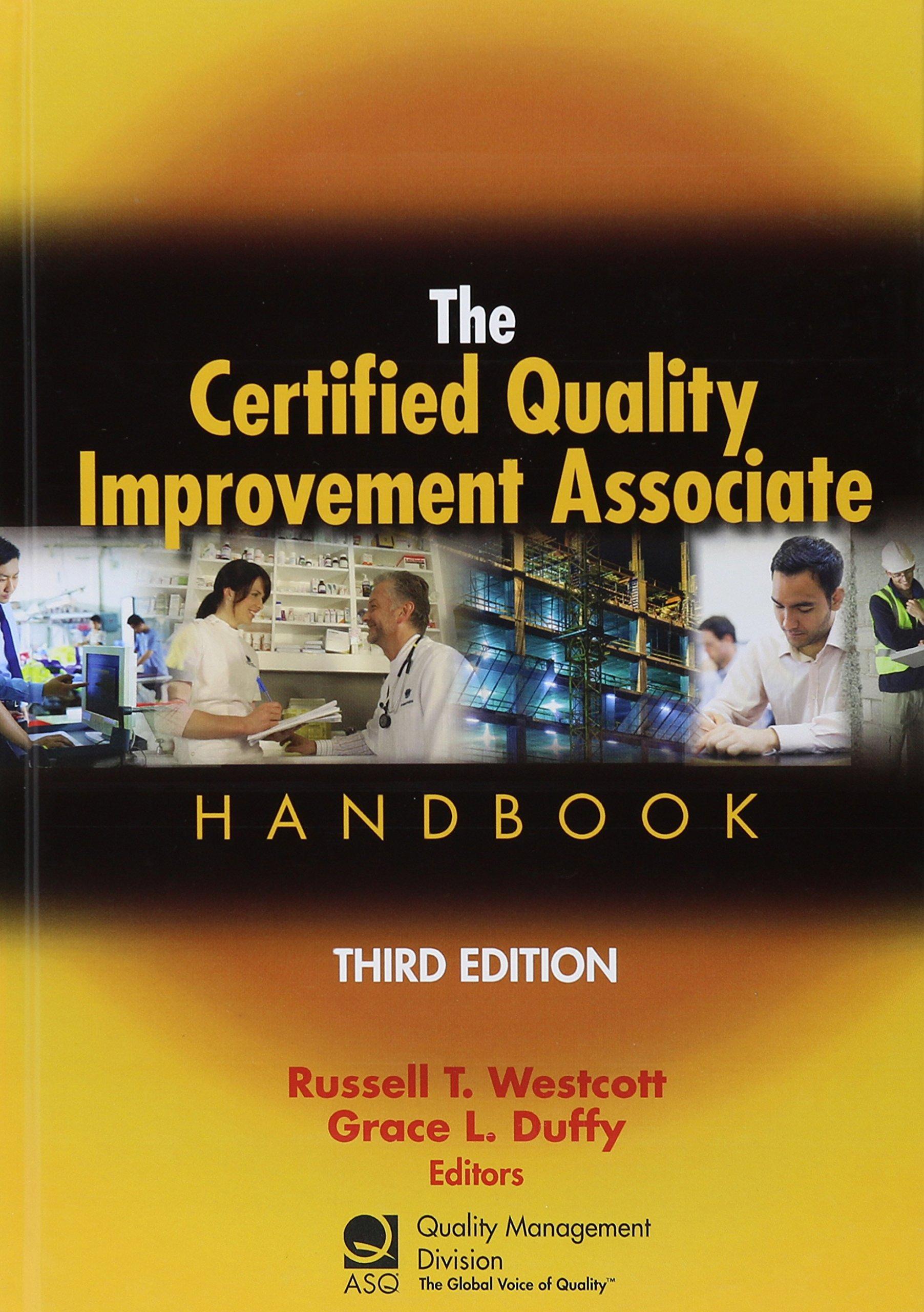 Certified Quality Improvement Associate Handbook product image