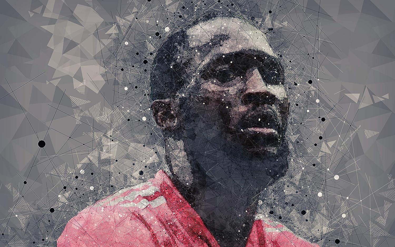 Lukaku Romelu Belgium National team player Poster, Football Print,Football Wall Poster, Football Wall Print, Football Wall Art