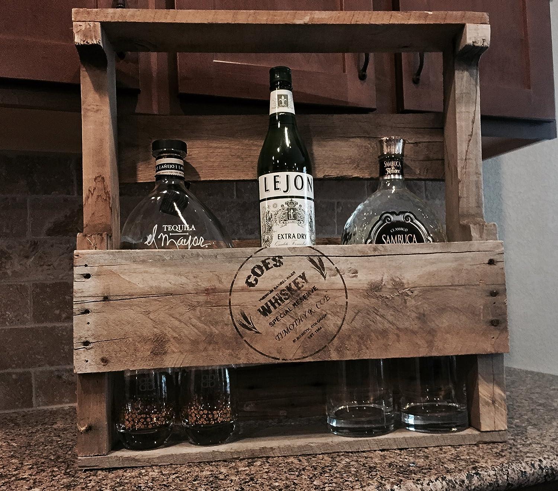 pallet whiskey rack. Pallet Whiskey Rack M