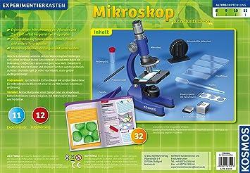 Kosmos 635213 mikroskop für natur entdecker: amazon.de: spielzeug