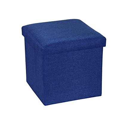 Charmant RONSTA Storage Ottoman, Foldable Cube Ottoman Storage Kids, Foot Rest,  Cloth Foot Stools