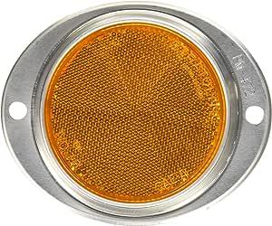 Blazer B888A Oval Aluminum Reflector Amber