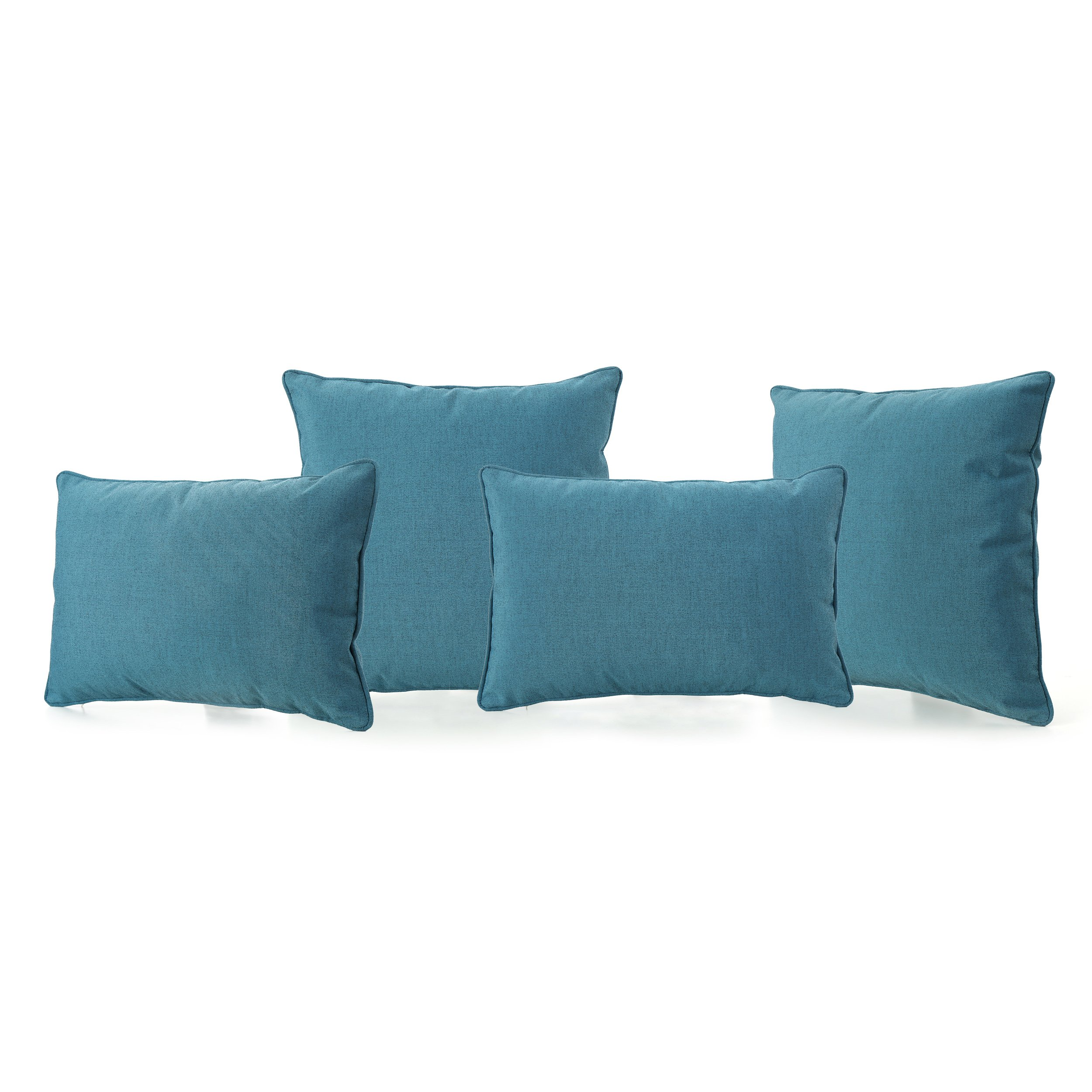 Christopher Knight Home Corona Throw Pillow, Teal by Christopher Knight Home