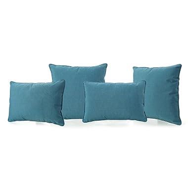 Christopher Knight Home Corona Throw Pillow, Teal