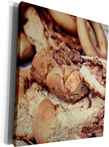 3dRose Alexis Photography - Food Sweet Treats - A pile of fresh apple pie pieces. Stylized photo - Museum Grade Canvas Wrap (cw_295010_1)