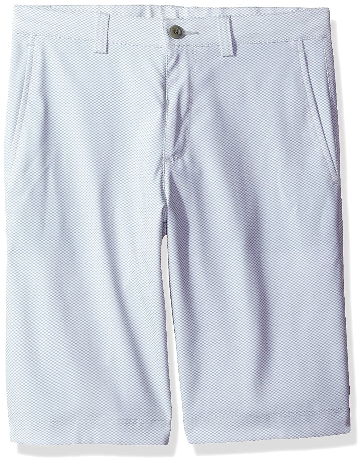 PGA TOUR Boys Flat Front Hybrid Birdseye Short PGA TOUR Men/'s Athletic PVBM7055