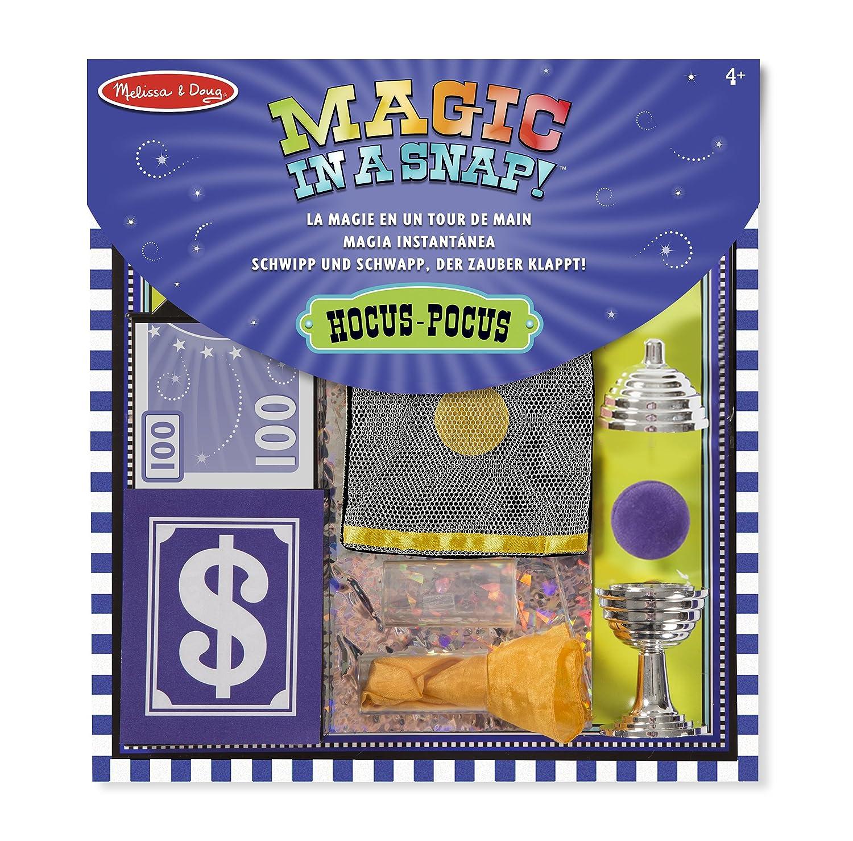 Melissa & Doug 15190 Set di Trucchi di Magia Hocus Pocus, 12 Pezzi