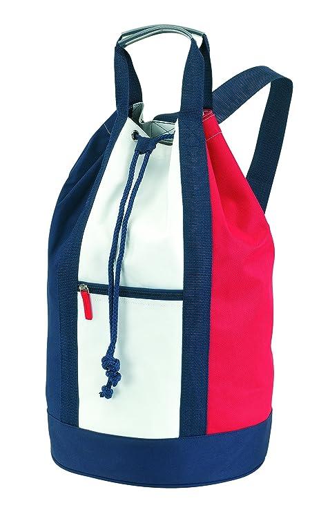 cef187b769 Vertrieb durch Preiswert & Gut , Sacca marinaio Unisex adulto Multicolore  bianco / blu / rosso