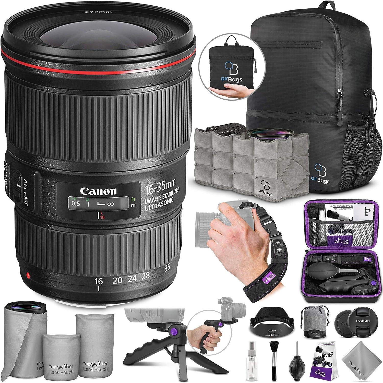 Canon EF 16 - 35 mm f/4L IS USM Lente w/fotográfico avanzado y ...