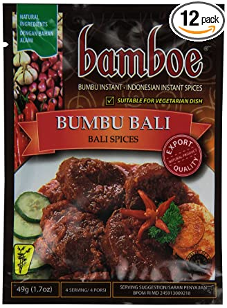 Bamboe Bumbu Bali Spices 1 7 Ounce Pack Of 12
