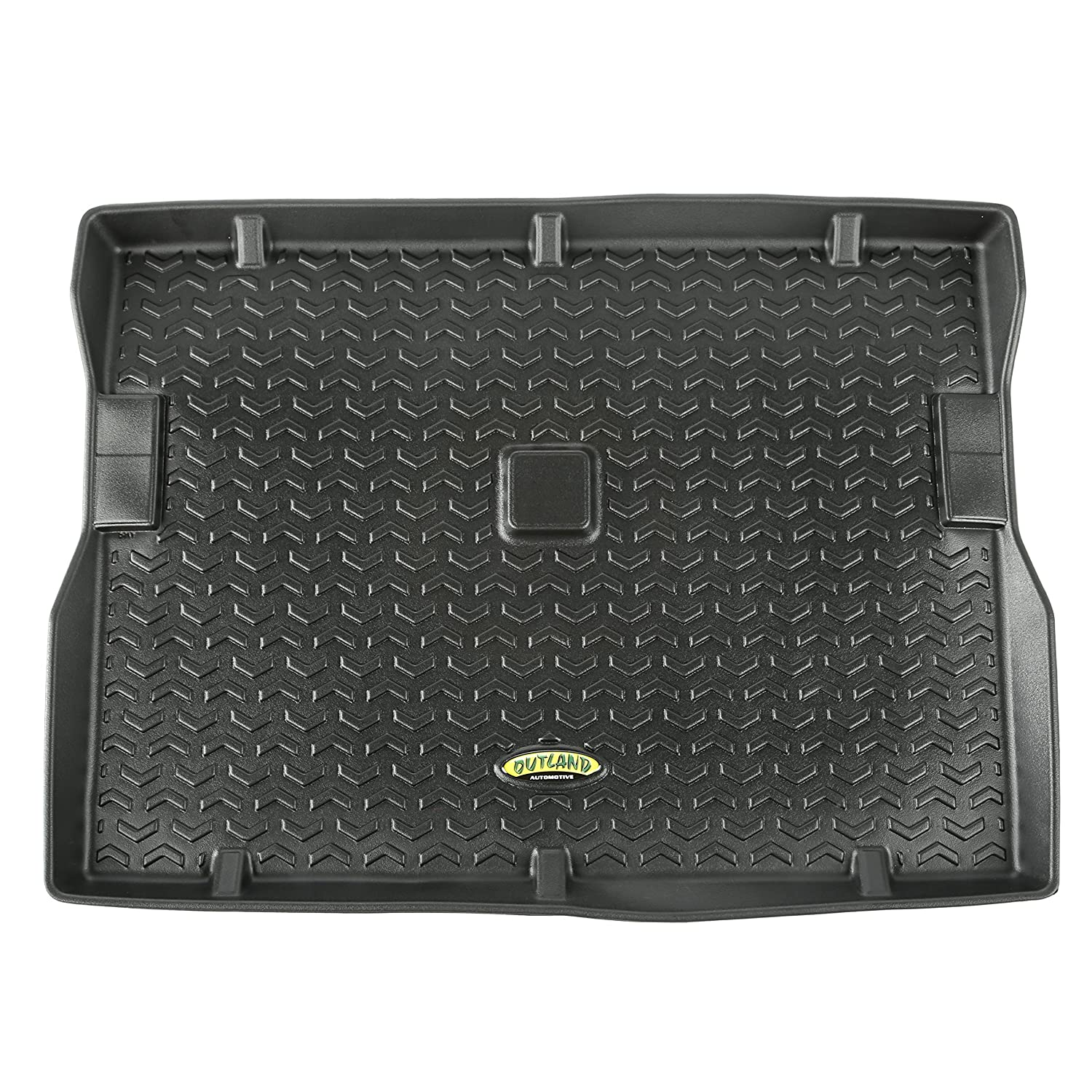 Outland 391295022 Black Second Row Floor Liner For Select Jeep CJ7 and Wrangler Models Outland Automotive