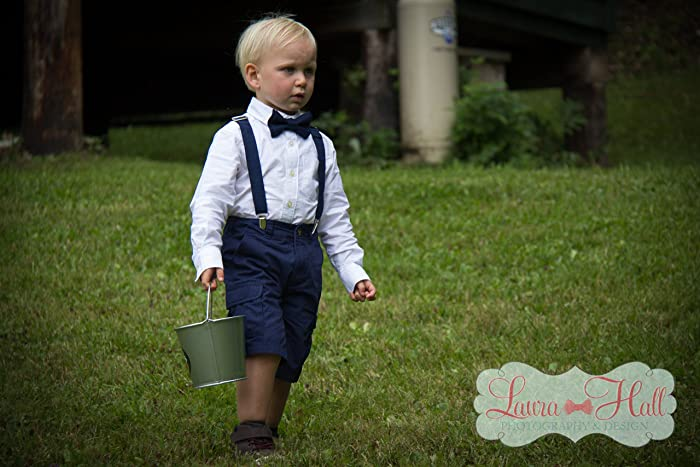 3713f708cd31 Bow Tie and SUSPENDERS set Navy - NAVY bow tie and suspenders, Navy solid,  Navy suspenders, navy bow tie, Navy blue bow tie, men boys toddler bow tie  ...