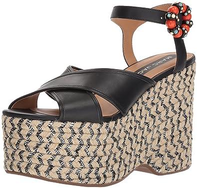 5ca87593513 Amazon.com  Marc Jacobs Women s Rowan Espadrille Wedge Sandal  Shoes