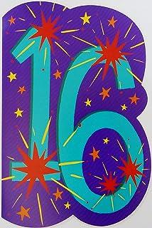 Amazon A 16th Birthday Greeting Card