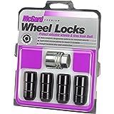 McGard 24220 Black Cone Seat Wheel Locks (M14 x 1.5 Thread Size) - Set of 4