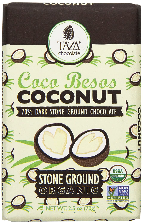 Amazon.com : Taza Chocolate Coconut Besos, 2.5 Ounce : Grocery ...