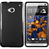 mumbi TPU Schutzhülle HTC One Hülle schwarz (NICHT HTC One M8)