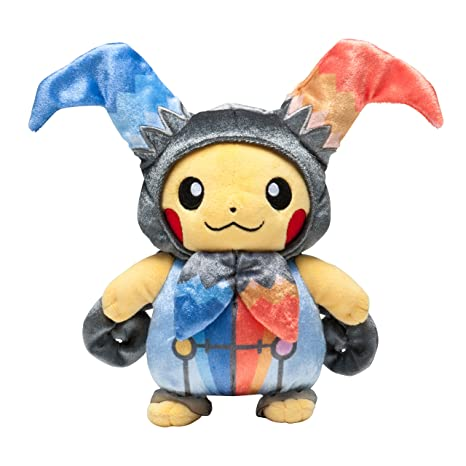 pokemon center original plush stuffed doll halloween circus pikachu