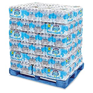 Nestle - Pure Life Purified Bottled Water, 1/2 Liter (16.9 Oz) - 78 Case Pallet