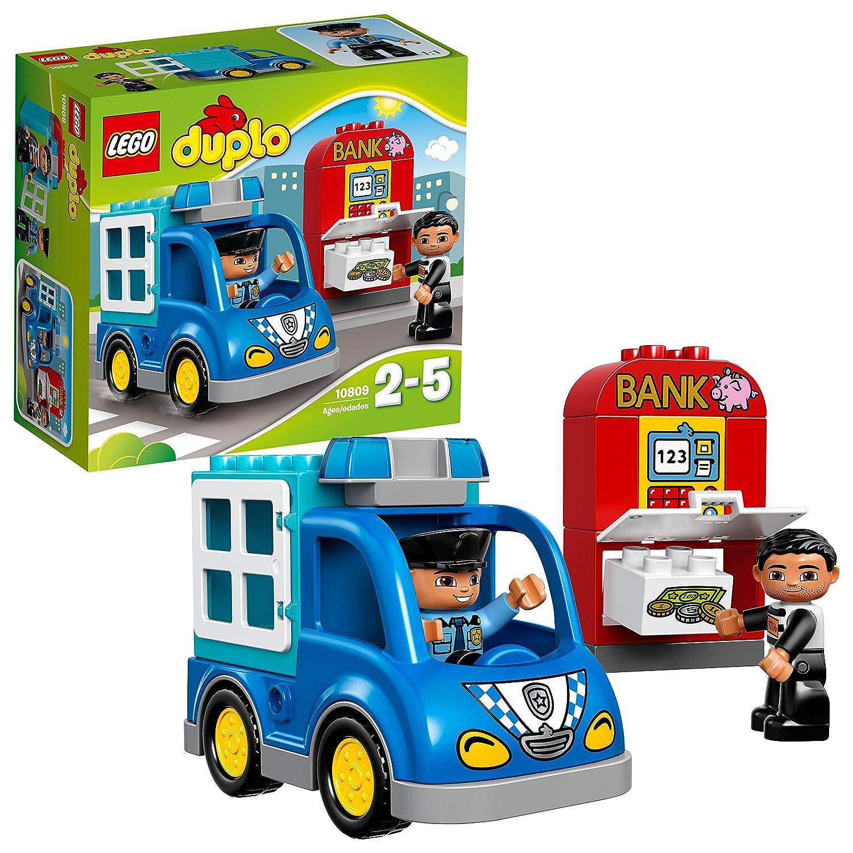LEGO Duplo 10809 - Polizeistreife, Kleinkinder-Spielzeug, groß e Bausteine