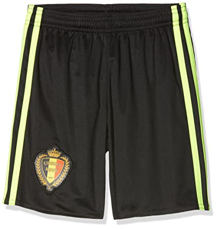 bd2e6e80a87 Amazon.com   adidas 2016-2017 Belgium Home Football Shorts (Kids ...