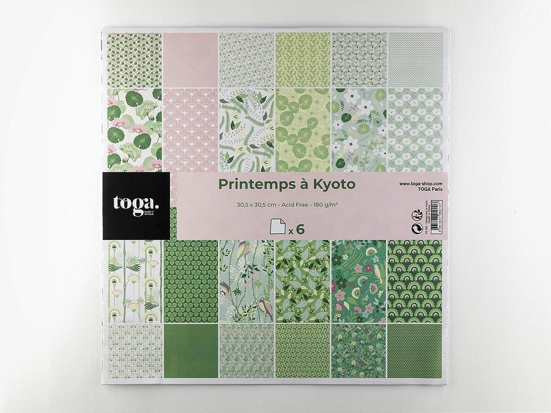 multicolor 100 unidades, 15 x 15 cm DraEGER Paris 1886 Papel origami