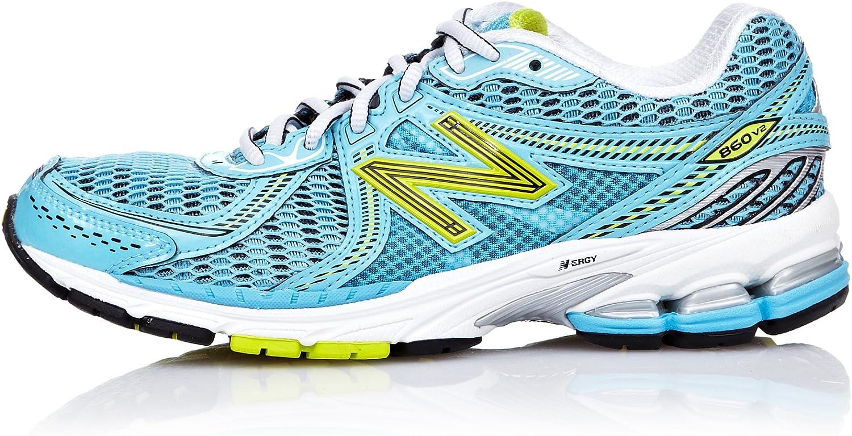 NEW BALANCE W860V2 Zapatilla de Running Señora, Azul, 37 - Anchura B: Amazon.es: Zapatos y complementos