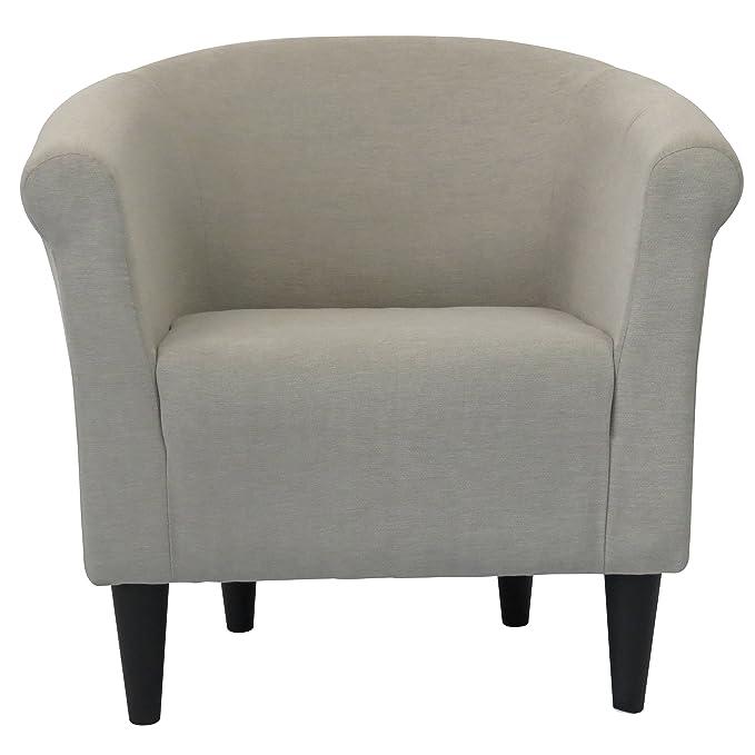 Amazon.com: Liam barril silla, silla de salón: Kitchen & Dining