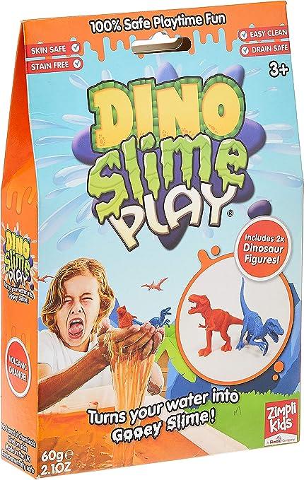 2 ASSORTED 3 INCH DINOSAUR EGG W DINO INSIDE /& GOOEY SLIME novelty play toy new