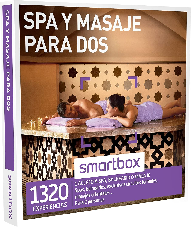 SMARTBOX - Caja Regalo -SPA Y MASAJE PARA DOS - 1320 experiencias como spas, balnearios, circuitos termales o masajes orientales: Amazon.es: Deportes y aire libre