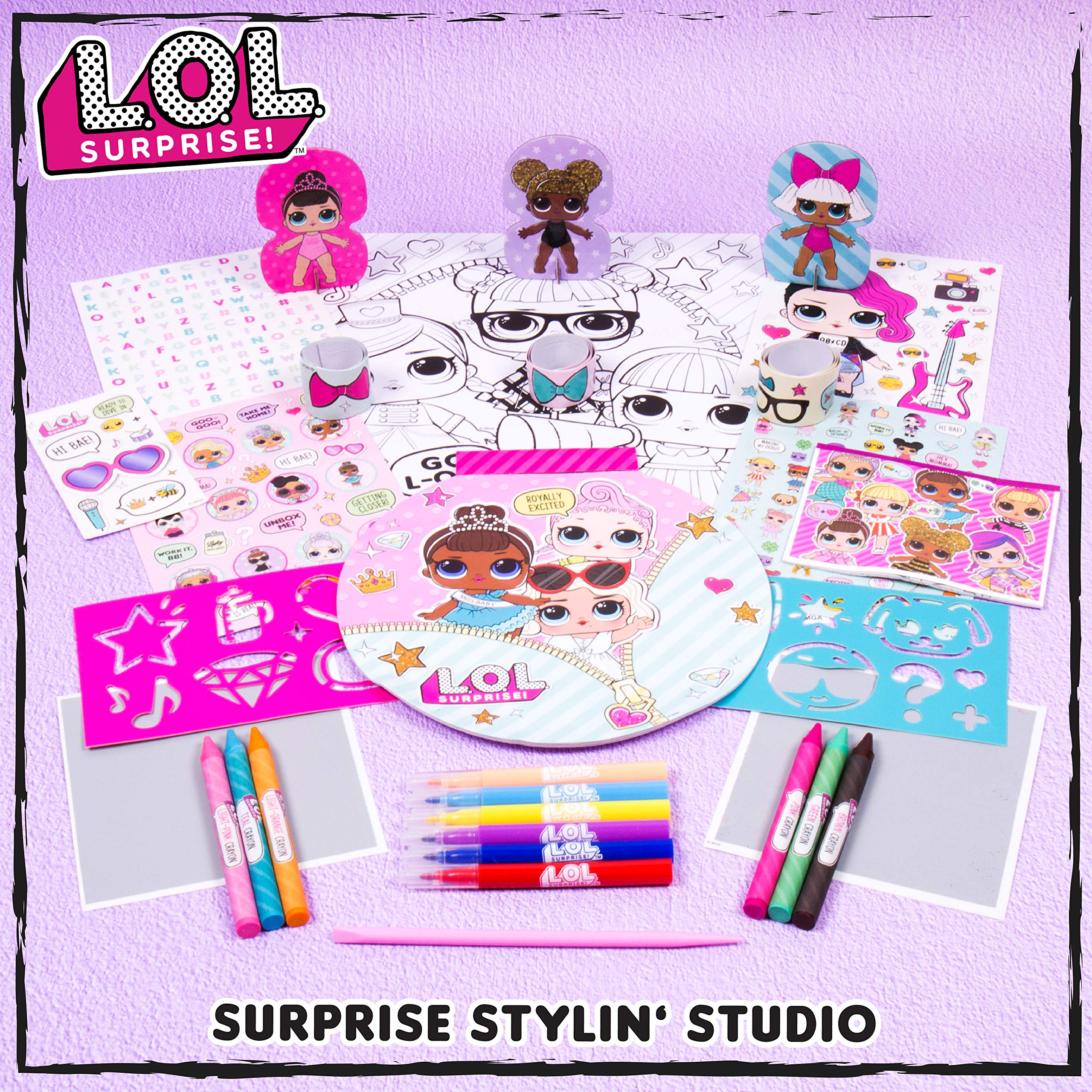 Toys Games Arts Crafts Surprise 14 Fashion Plates Fashion Plates By Horizon Group Usa Fashion Design Activity Kit 7 Crayons Included Make Over 100 Designs L O L 1 Scratch Art Sheet