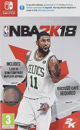 NBA 2K18 (Nintendo Switch) (New): Amazon.es: Videojuegos