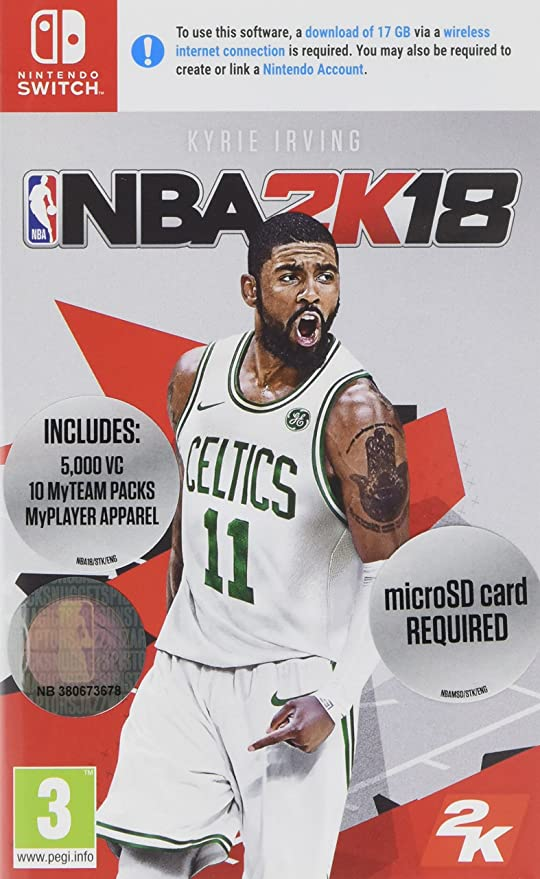 NBA 2K18 (Nintendo Switch) (New): Amazon.es: Videojuegos