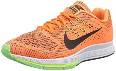 check out c3e02 78aa6 Nike Herren Air Zoom Structure 18 Laufschuhe, Total Orange/Black/Voltage  Ghost Green