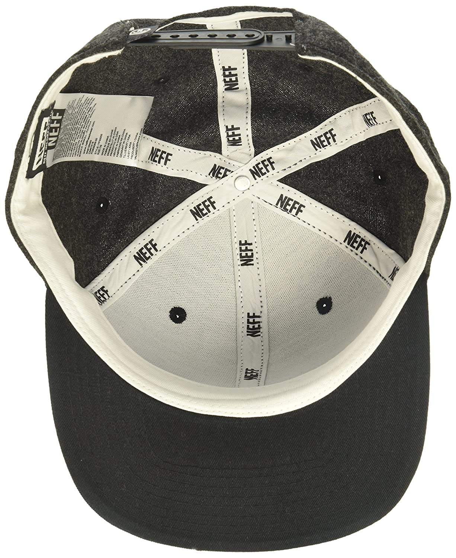 35bafc6d7d76 Amazon.com: NEFF Men's Daily Cap, Black, One Size: Clothing