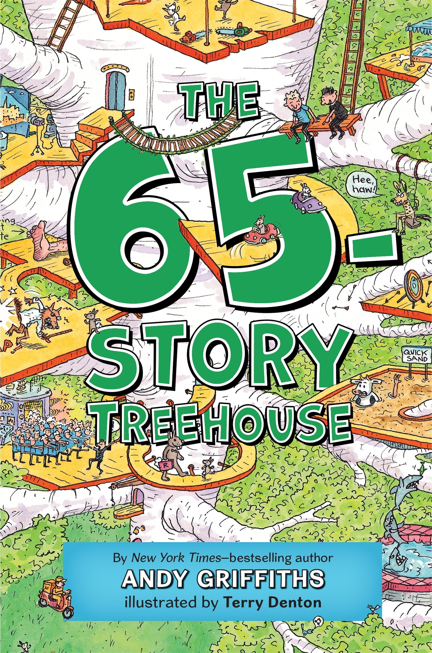 Andy Griffiths Treehouse Part - 41: The 65-Story Treehouse (The Treehouse Books): Andy Griffiths, Terry Denton:  9781250102461: Amazon.com: Books