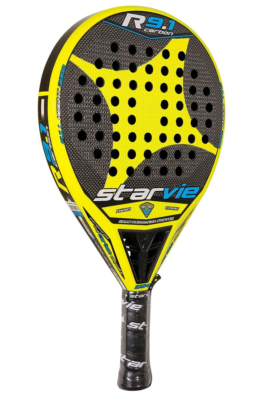 StarVie R 9.1 DRS 2016 Pala de pádel, Unisex Adulto, Amarillo, 360 Gramos: Amazon.es: Deportes y aire libre