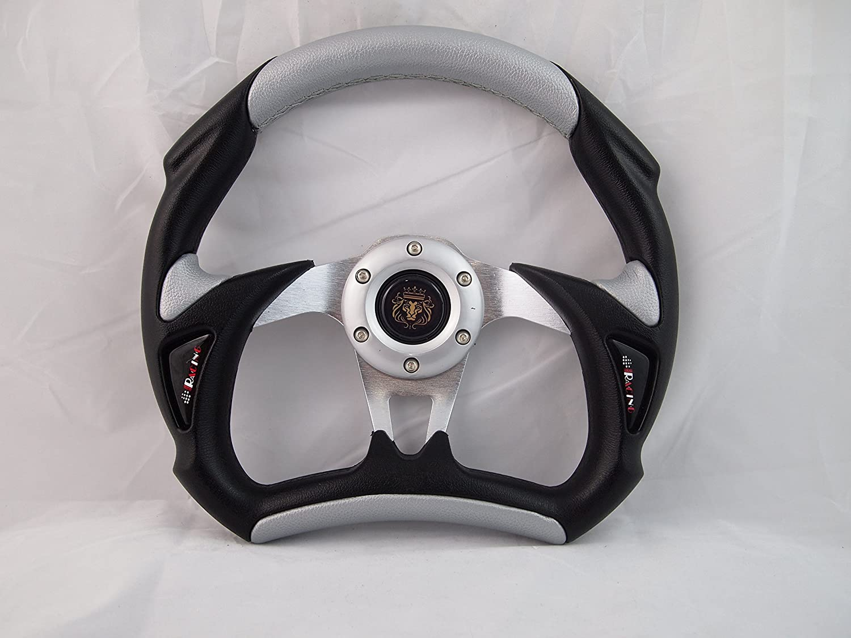 Hub Sport Line 320 mm Wood Marine Boat Steering Wheel