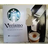 Starbucks Verismo Single-Cup Coffee and Espresso Maker 11023257, Black