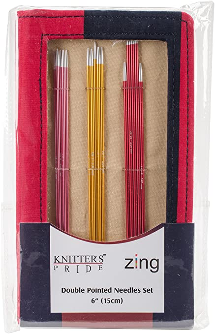 Amazon Com Knitter S Pride Kp140303 Zing Double Pointed Needles Set