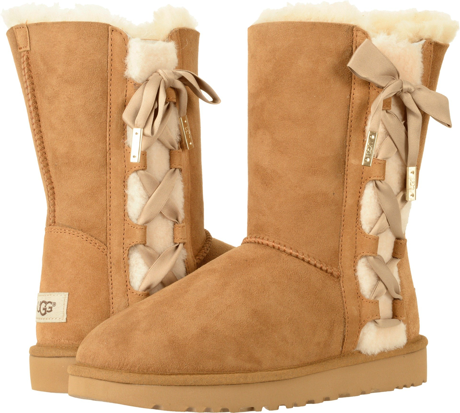 UGG Women's Pala Winter Boot, Chestnut, 7 M US