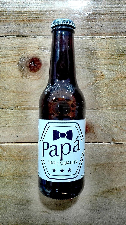 Cerveza personalizada regalo para el día del padre papa (Pack de ...