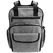 Baby Diaper Bag Backpack Large Waterproof 15 Pocket Organizer W/Stroller Straps-Insulated Pockets & Changing Pad. Designer Quality Tote For Men and Women