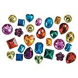 Darice Big Bling Shapes Gem Value Pack Rhinestones, Multicolor