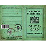 Children's Identity Card from World War 2 - REPLICA DOCUMENT