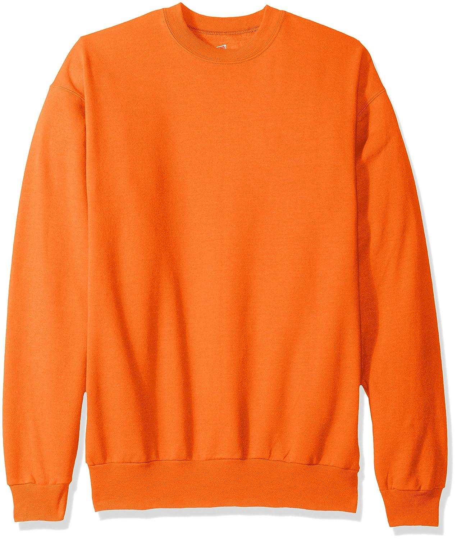 Hanes SWEATER メンズ B072JCMK1Y XXXX-Large オレンジ(Safety Orange) オレンジ(Safety Orange) XXXXLarge
