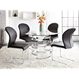 "Steve Silver Company Tayside Dining Table, 45""W x 45""D x 30""H"