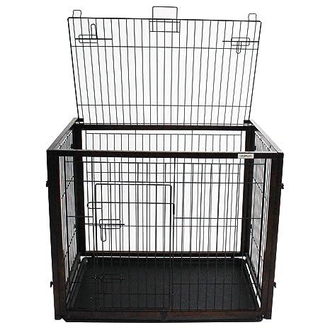 Simply Slide | jaula de perros | caja | Madera | función deslizamiento